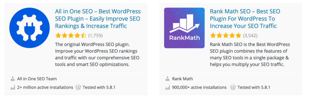Install a Free WordPress SEO Plugin
