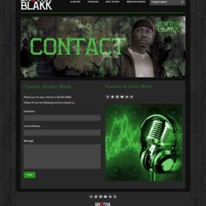 Web Design Portfolio Brotha Blakk
