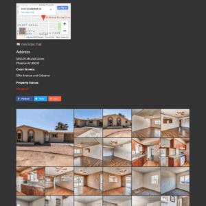 Web Design Portfolio Cannon Properties Group