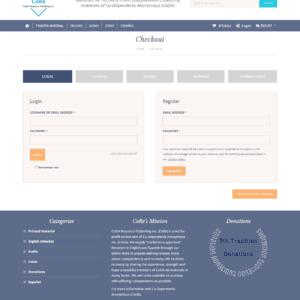 Web Design Portfolio CoRe Publications