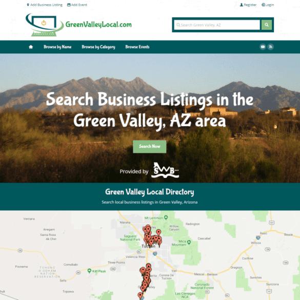 Web Design Portfolio Green Valley Local