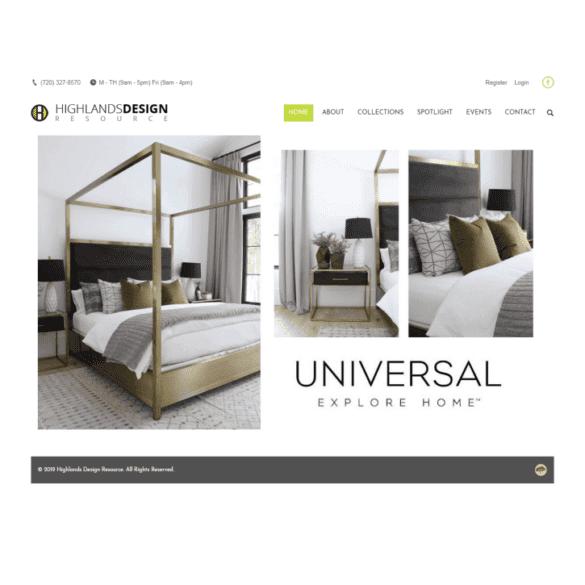 Web Design Portfolio Highlands Design Resource