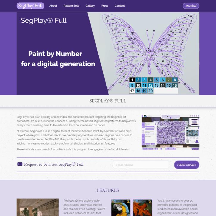 Web Design Portfolio SegPlay Full