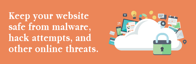 Keep your website safe from malware, hack attempts, and other online threats with our WordPress security service