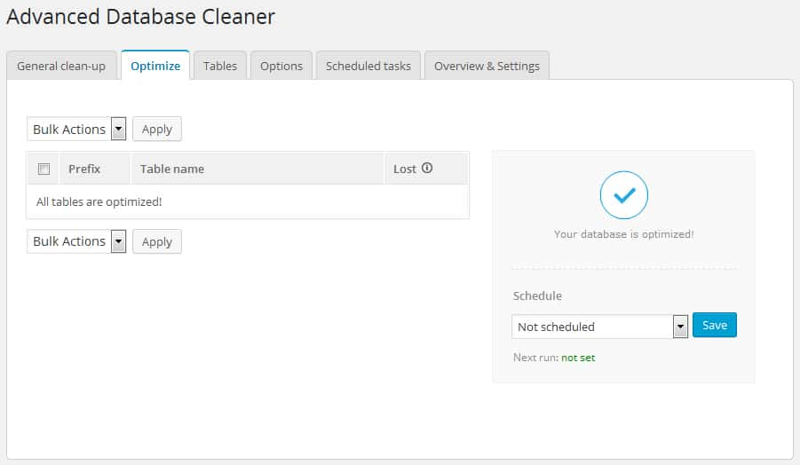 How to Clean and Optimize Your Wordpress Database