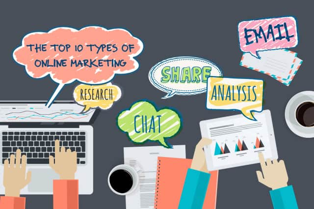 The Top 10 Types of Online Marketing