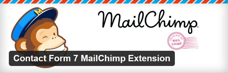 Top 10 Wordpress Utility Plugins 2016 Contact Form 7 MailChimp Extension