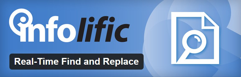 Top 10 Wordpress Utility Plugins 2016 Real-Time Find and Replace